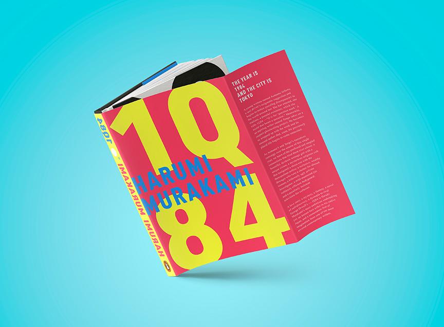 1Q84 Book Design